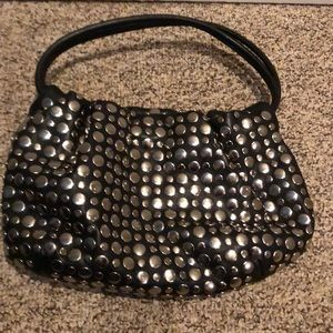Nine West biker chick studded bag